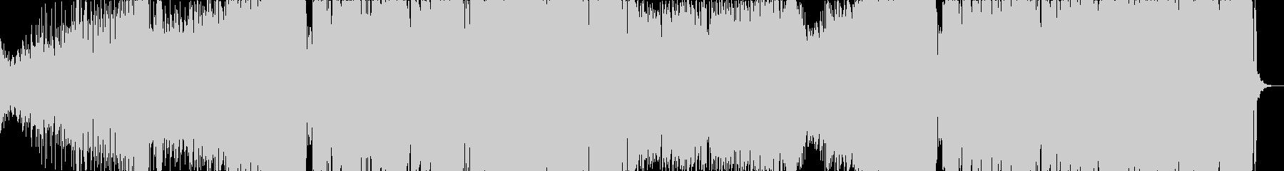 透明感のあるドラムステップの未再生の波形