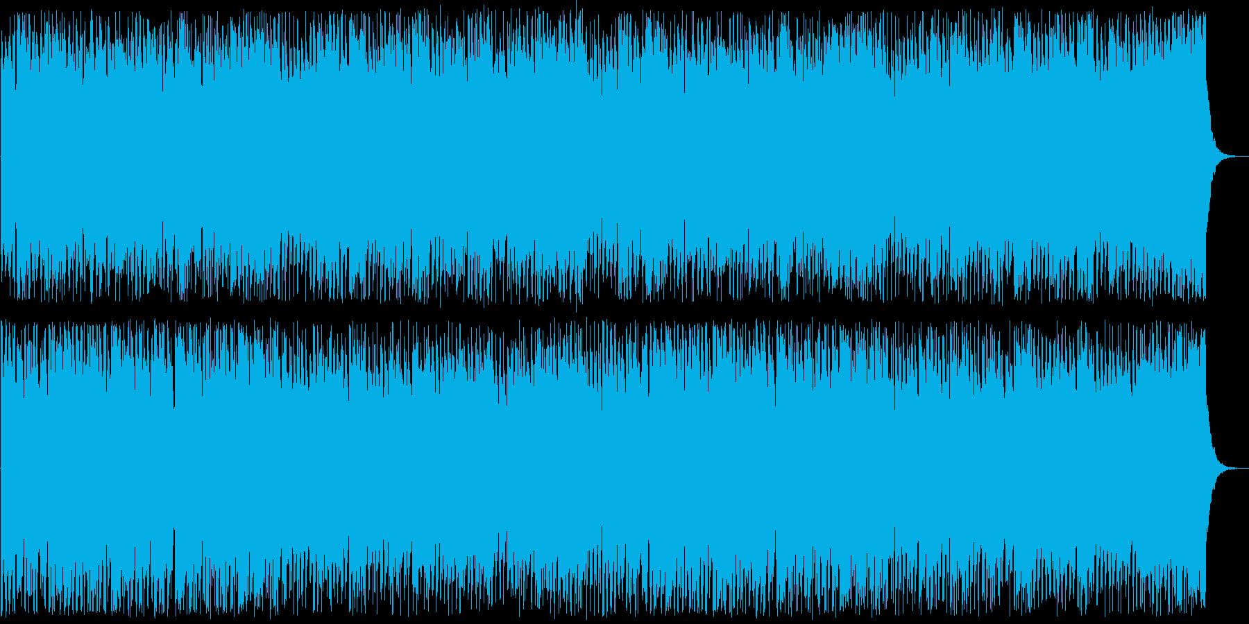 盛大な印象のシンセポップテクノ系の再生済みの波形