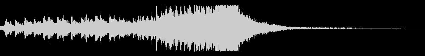 スティンガー-終わりにパーカッシブ...の未再生の波形