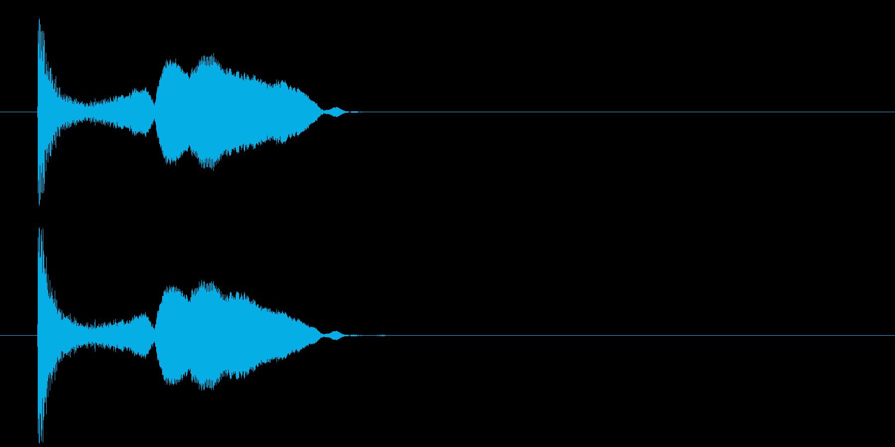 漫画のピンwhiの再生済みの波形