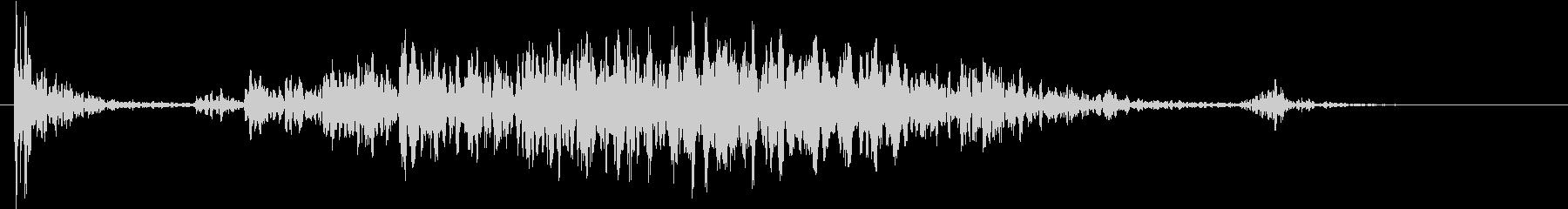【生録音】テーブルを引っ掻く音 2の未再生の波形