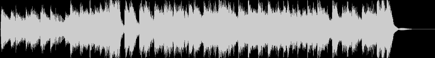ピアノロックで明るい元気のある曲の未再生の波形