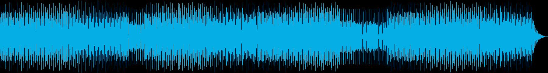 houseの再生済みの波形