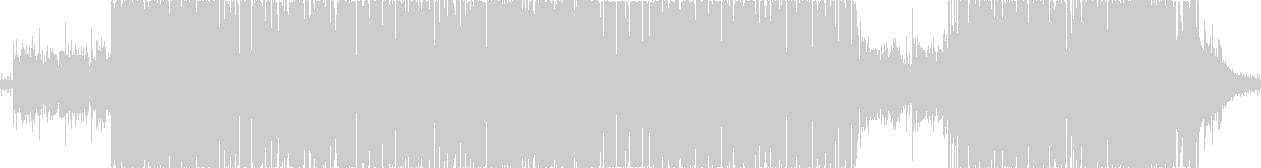 ジャジーヒップホップ風の未再生の波形