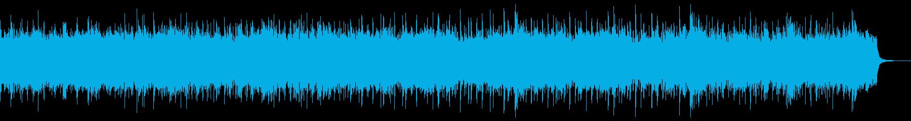 優雅なひとときを演出するBGMの再生済みの波形