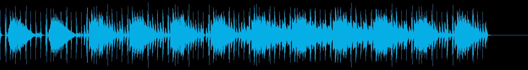 ダウンテンポ 暗めの再生済みの波形
