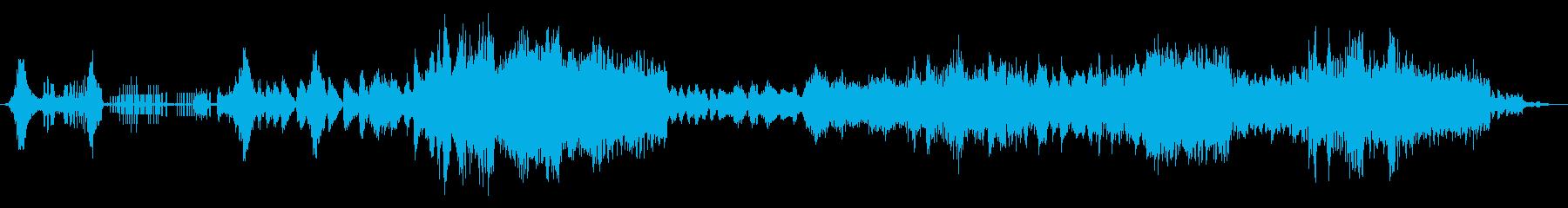 宇宙コンピューターの機械的または低...の再生済みの波形