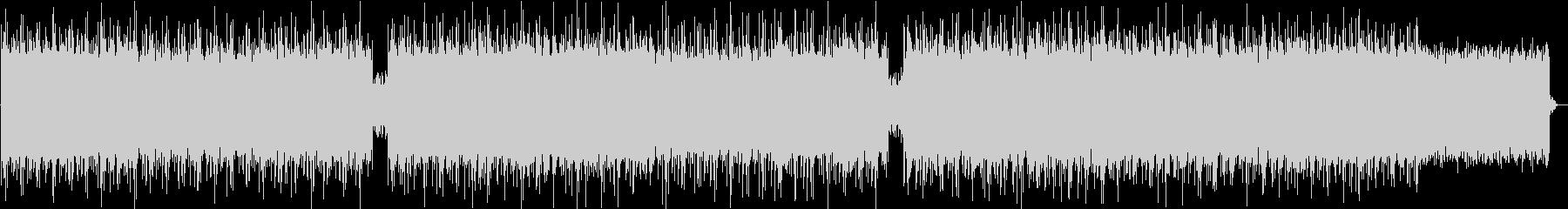ドリーミーなエンディングインディーポップの未再生の波形