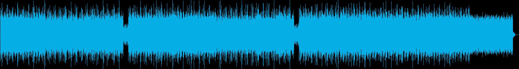 ドリーミーなエンディングインディーポップの再生済みの波形