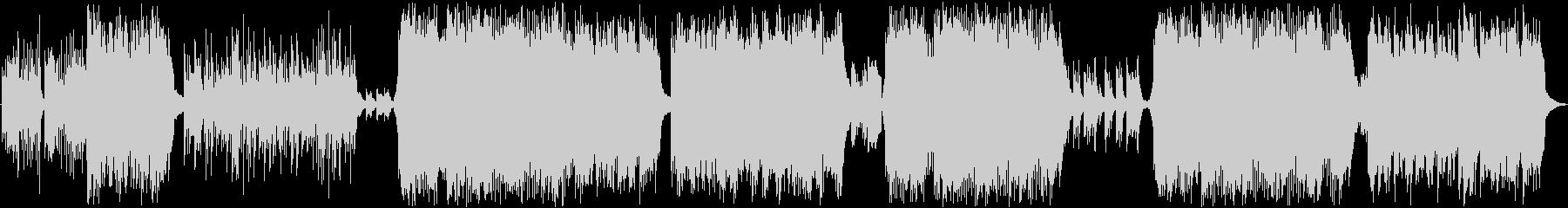 和曲、ピアノ、三拍子の未再生の波形