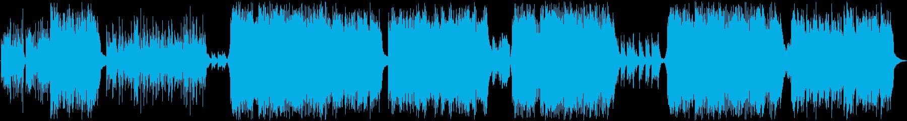 和曲、ピアノ、三拍子の再生済みの波形
