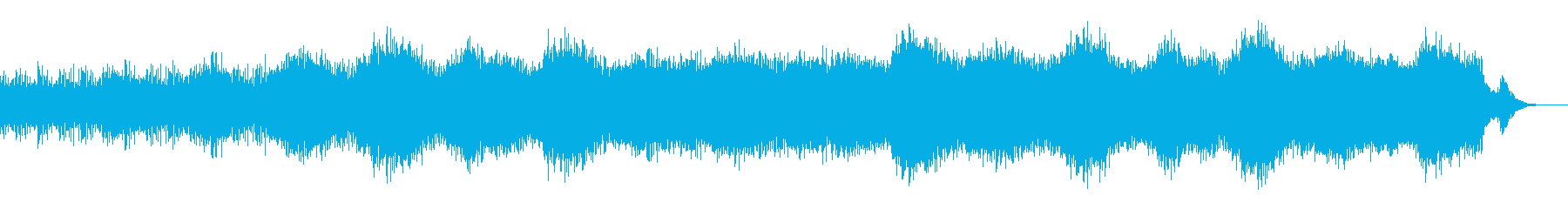レトロシンセ系のダークなアンビエントの再生済みの波形