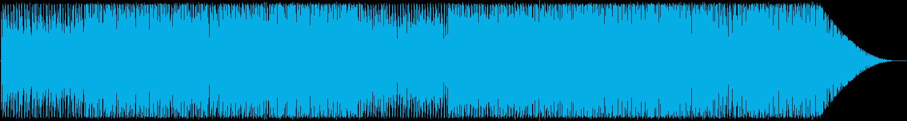 沖縄の海をイメージした曲の再生済みの波形