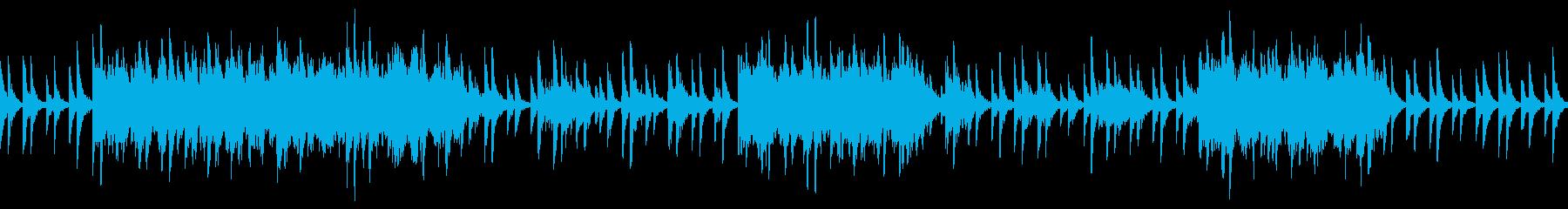異次元世界をイメージしたシンセ曲の再生済みの波形