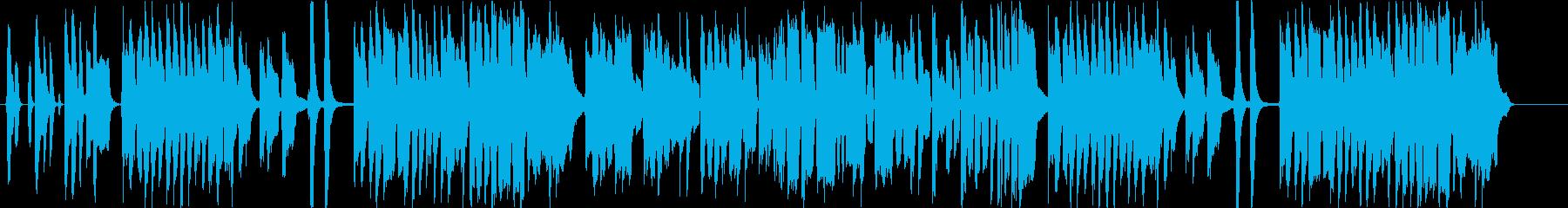 やさしくてほのぼのしたリコーダーの曲の再生済みの波形