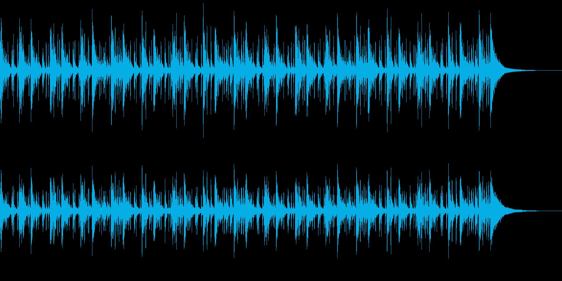 和風の緊迫感=ドラムと鳴り物-メロ無しの再生済みの波形