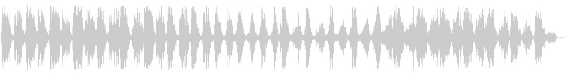 ガシュガシュ(鋸引きを一生懸命)の未再生の波形