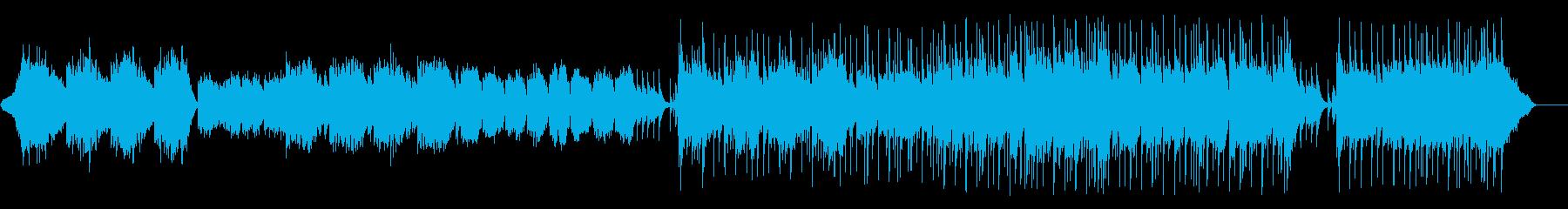 想いが揺れるはかないポップ/バラードの再生済みの波形