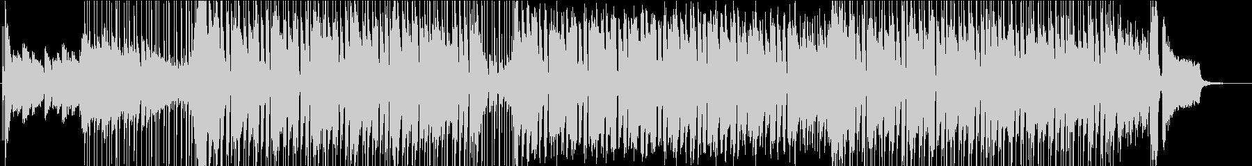 ポップ要素を多く含んだBGMの未再生の波形