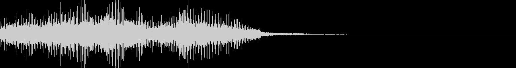 ショッキング(ホラー・ノイズ有り)10の未再生の波形