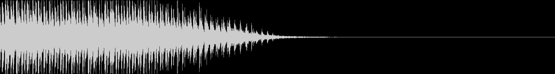 カッー!!80年代コント等で使われる音の未再生の波形