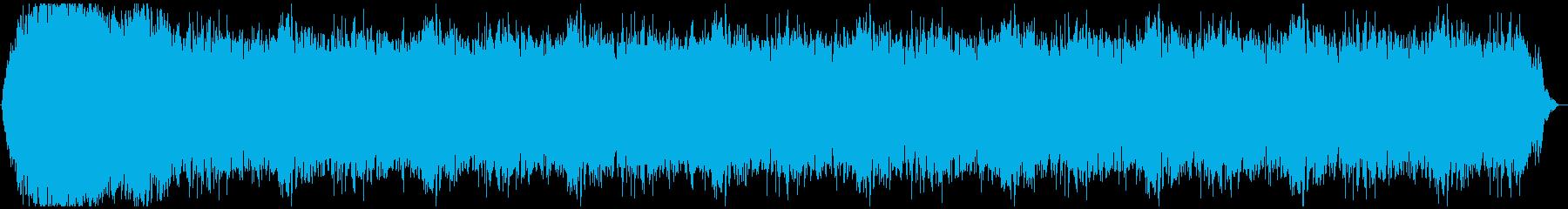 ドローン ストームハイ01の再生済みの波形