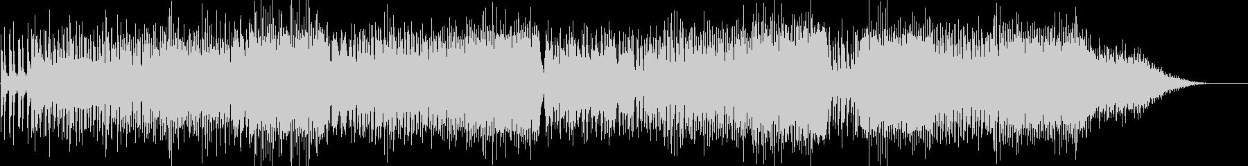 クールな印象のピアノダンスポップスの未再生の波形