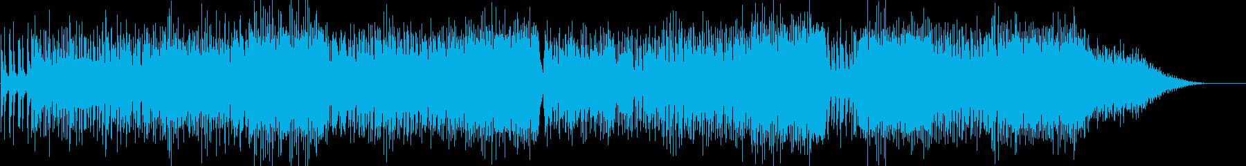 クールな印象のピアノダンスポップスの再生済みの波形