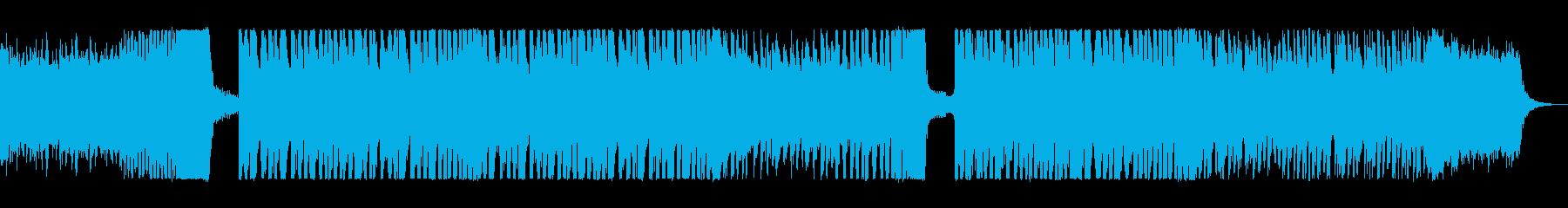 疾走感溢れるアップテンポなシンセポップの再生済みの波形