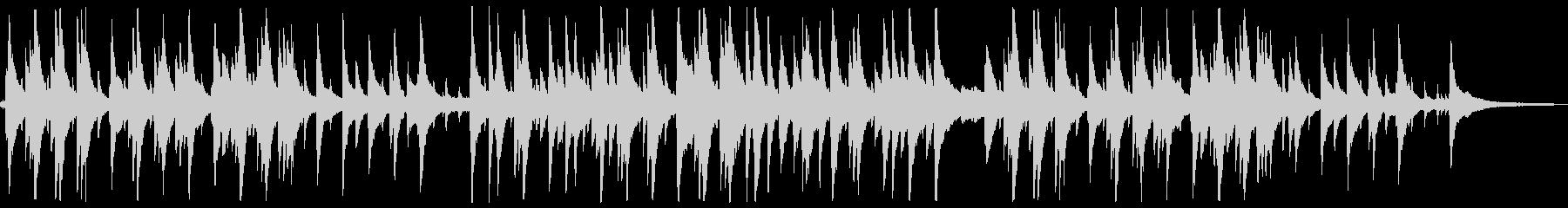 ピアノが印象的なゆったり落ち着くジャズ1の未再生の波形