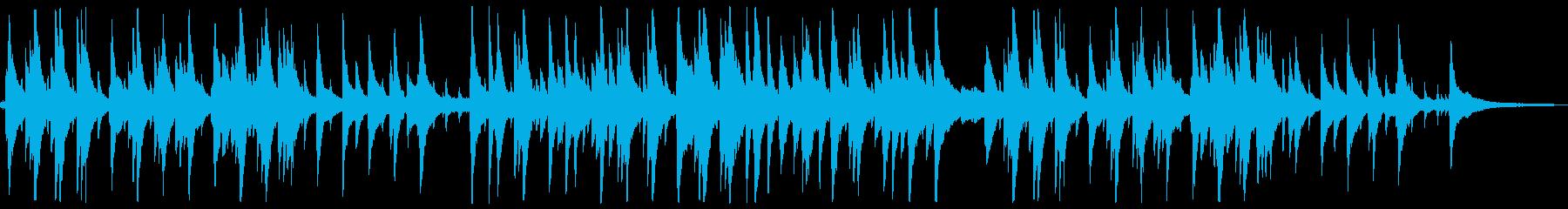 ピアノが印象的なゆったり落ち着くジャズ1の再生済みの波形