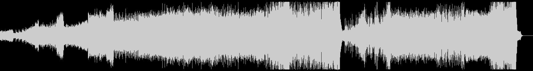 岩戸音階 相撲バトル ハードコアテクノ改の未再生の波形