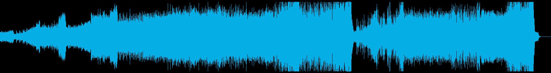 岩戸音階 相撲バトル ハードコアテクノ改の再生済みの波形