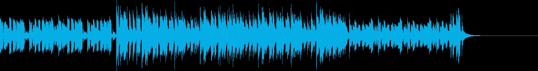昭和歌謡風ポップス コミカルで元気 CMの再生済みの波形