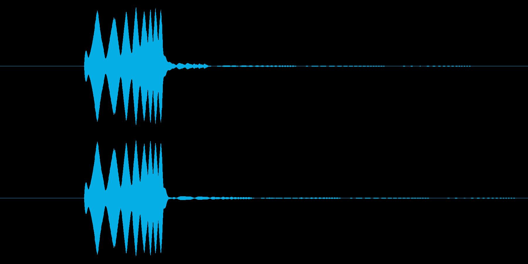 「ぴろりーん」決定音や経験値を手に入れ…の再生済みの波形