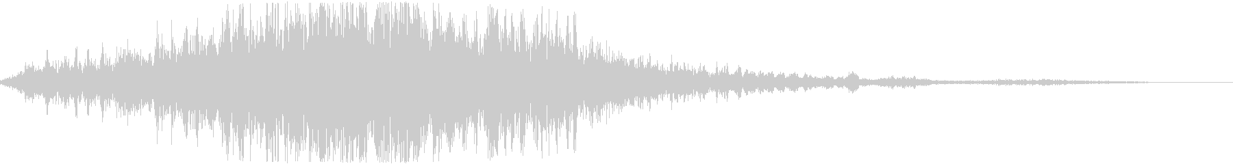 タイトルロゴに合うサウンド_05の未再生の波形