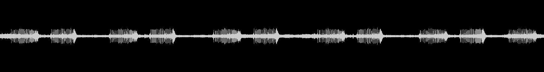ツクツクボウシの未再生の波形