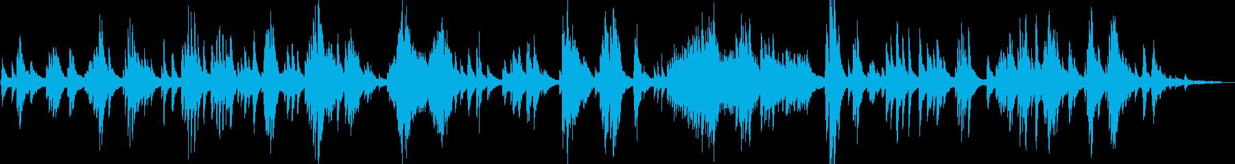 アンビエント系 優しく美しいピアノソロの再生済みの波形