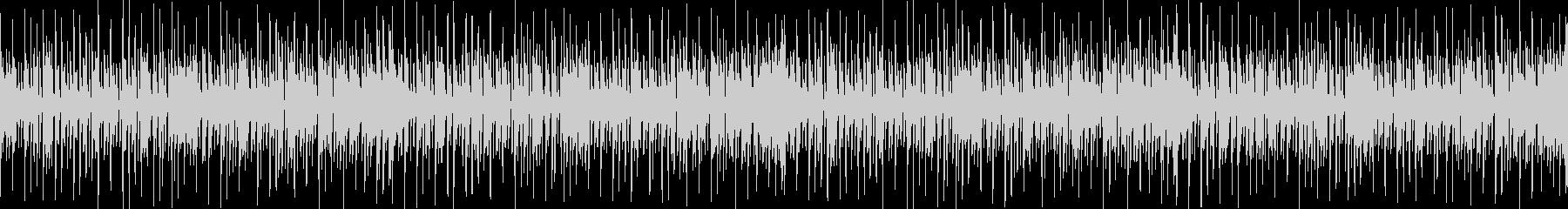 スラップベースとカッティングギターBGMの未再生の波形