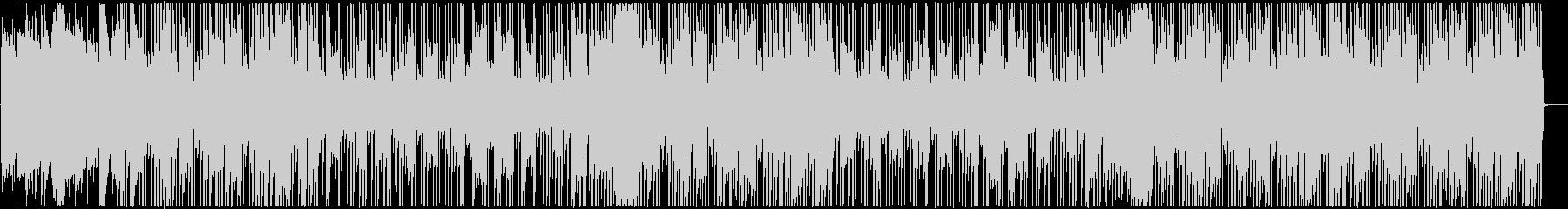 切ないR&B調レゲエの未再生の波形