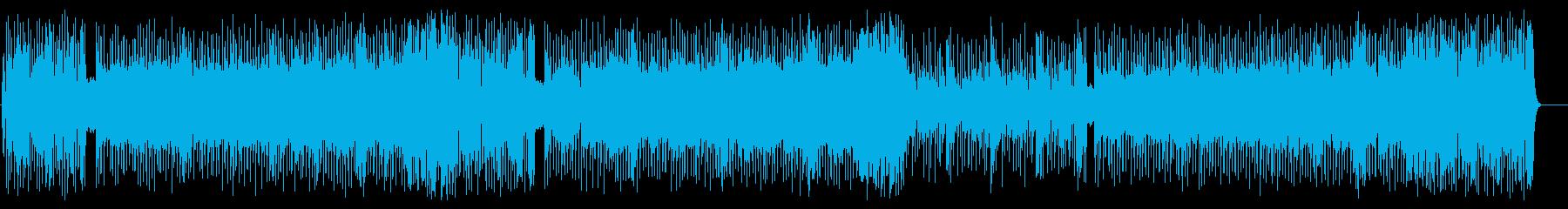 力強いギターワークが映える技巧的ナンバーの再生済みの波形