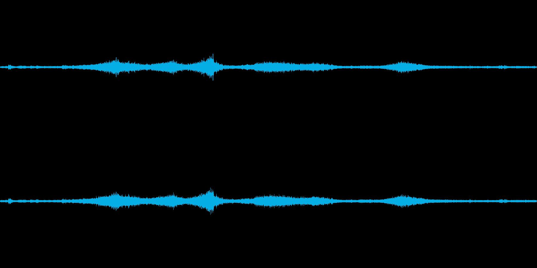 【生音】通行音 - 6 犬 車 バイク…の再生済みの波形