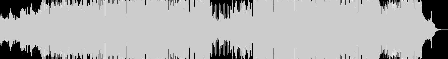 冷気とコンクリートのテクノの未再生の波形