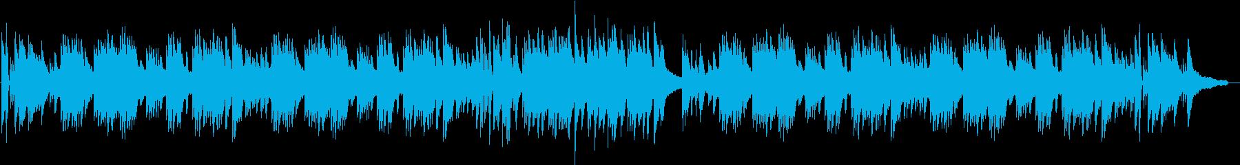 おしゃれなスロージャズの再生済みの波形