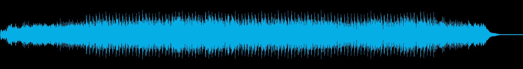 ダークで恐怖感のあるエレクトロニカの再生済みの波形
