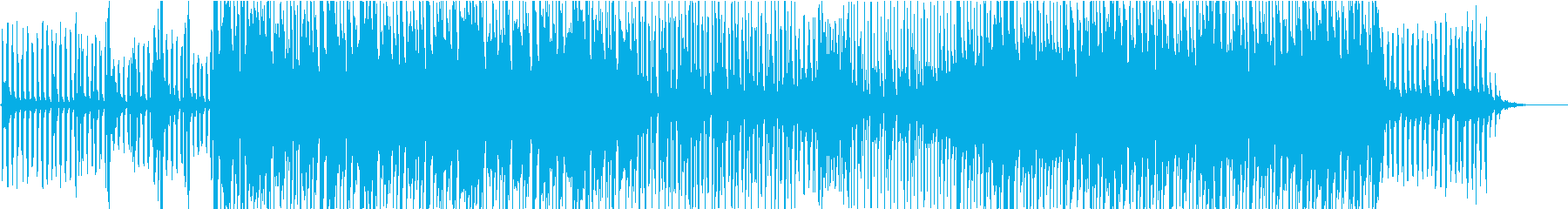 初夏を想起させる爽やかな旋律のトランスの再生済みの波形