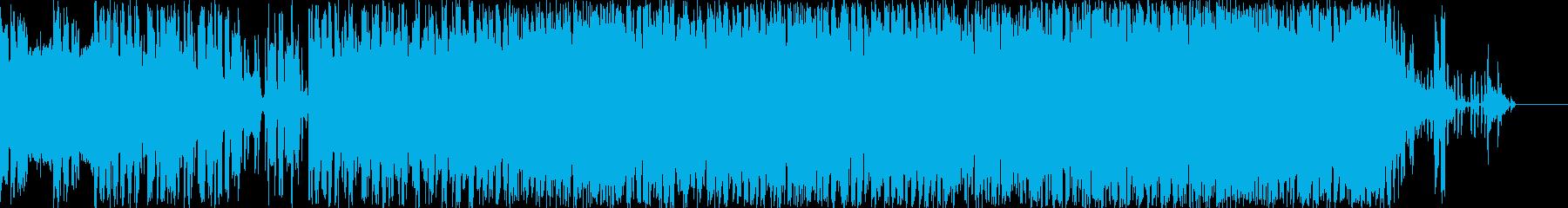 エレクトロニック 技術的な お洒落...の再生済みの波形