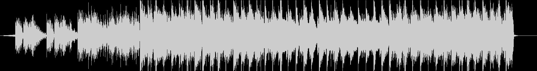 【LoFi hiphop】 チルギターの未再生の波形