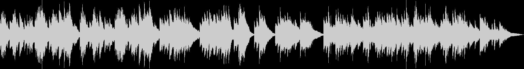 ピアノ生演奏/和風・静か・京都・お茶・寺の未再生の波形