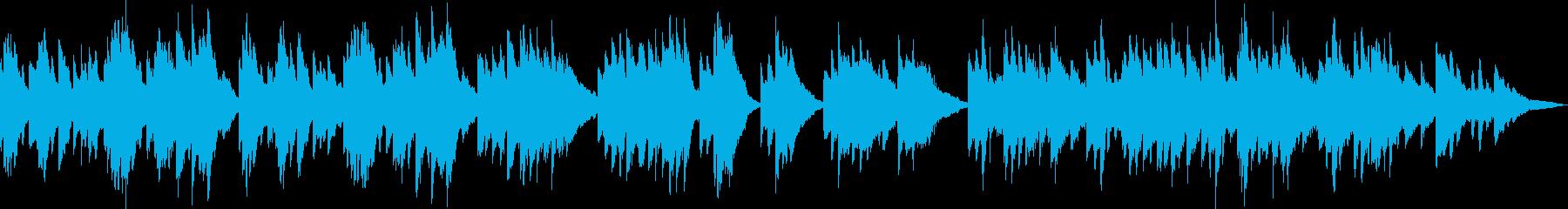 ピアノ生演奏/和風・静か・京都・お茶・寺の再生済みの波形